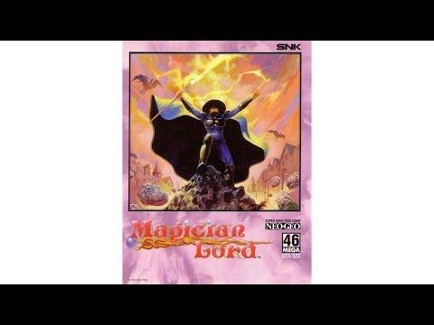 magician lord neo geo cd