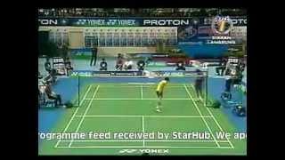 Video Malaysia Badminton Open 2006 MS Final - Lee Chong Wei[MAS] vS Lin Dan[CHN] MP3, 3GP, MP4, WEBM, AVI, FLV Oktober 2018