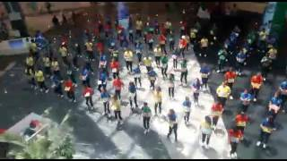 Flash Mob in  Elante Mall  Choreography  by just dance with me  2017