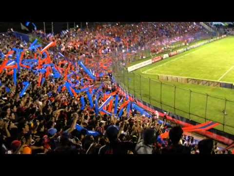 Recibimiento Cerro Porteño ante O'higgins Copa libertadores 2014 (CERRO EN HD) - La Plaza y Comando - Cerro Porteño
