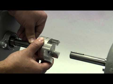Lovejoy GS Style (Backlash Free) Curved Jaw Coupling Installation Video thumbnail