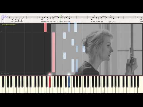 ноты для фортепиано песни ты знаешь как хочется жить