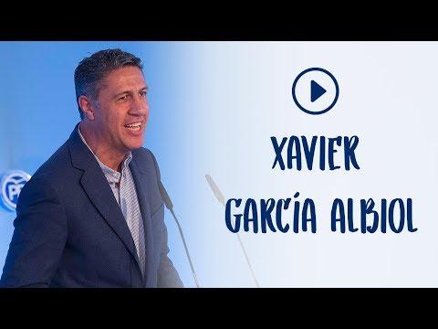 Xavier García Albiol en la Convención Nacional