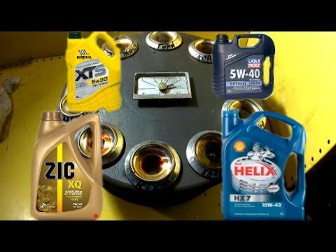 Проверка моторного масла методом нагрева часть 3, зик, форд, кикс, бардаль, эльф (видео)