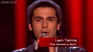 The Voice UK 2013 - Liam Tamne performs - is Womans Work - Blind Auditions