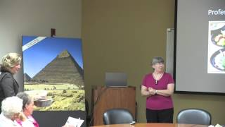 Tourism, Textiles, Finance,&Food: Ancient Egypt Then and Now