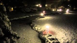 Maior precipitação de neve em Gramado-RS desde 1994.