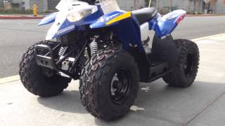 2. 2013 Polaris Outlaw 50 Blue
