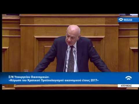 Δ. Παπαδημητρίου: Πρόβλημα για τις επιχειρήσεις η χρηματοδότηση, όχι η φορολογία