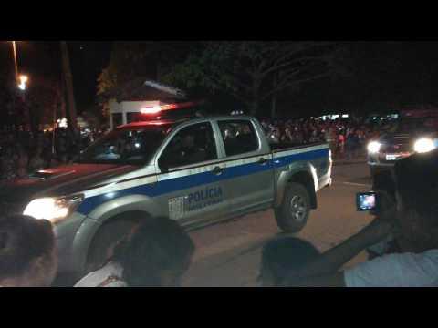 Polícia Militar de Rurópolis Fazendo sua apresentação no desfile 07 de Setembro em Rurópolis-PA