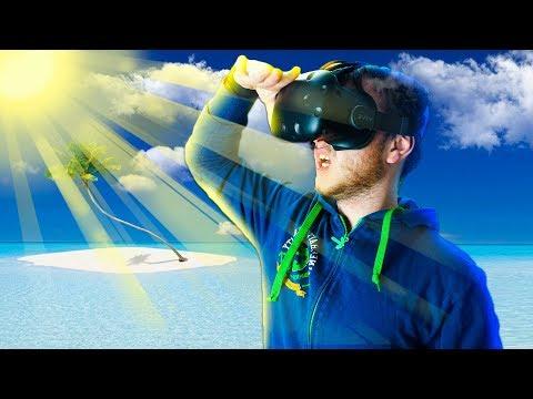 ПОТЕРЯЛСЯ В ОКЕАНЕ! STRANDED DEEP VR! - Lost In Ocean VR - HTC Vive