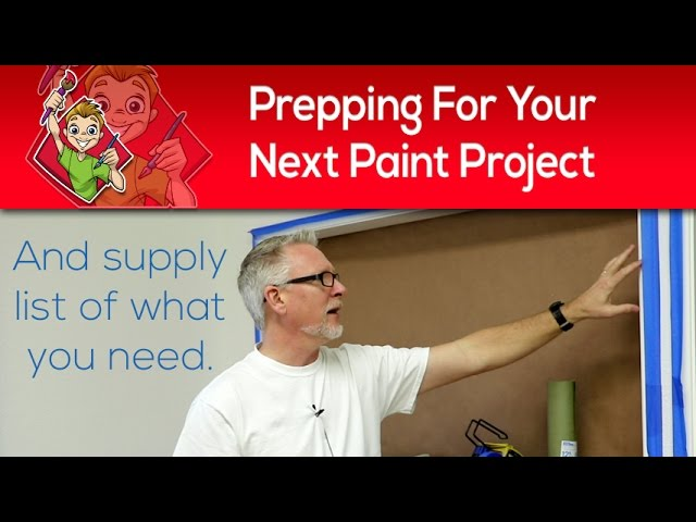 Prepping For Your Next Paint Project