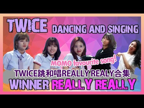 Video TWICE Dancing and Singing to WINNER's Really Really Compilation download in MP3, 3GP, MP4, WEBM, AVI, FLV January 2017