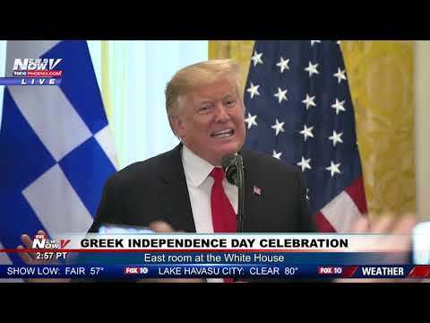 Video - Ο Τραμπ... θέλει να γίνει Έλληνας! Τι είπε στην εκδήλωση για την 25η Μαρτίου (ΒΙΝΤΕΟ)