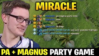 Video MIRACLE Techies Party vs PA + MAGNUS COMBO MP3, 3GP, MP4, WEBM, AVI, FLV Januari 2019