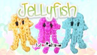 Jellyfish Rainbow Loom Charm Tutorial   How To - YouTube
