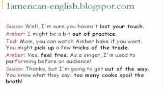 تحدث الانجليزية الأمريكية المحادثة 13