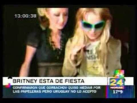 Britney Spears sin ropa interior