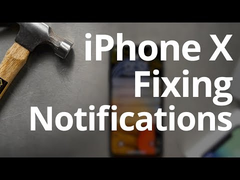 IPhone X Tip ► Fixing THE MOST ANNOYING FEATURE (Turn Off Hidden Notifications; For All New IPhones)