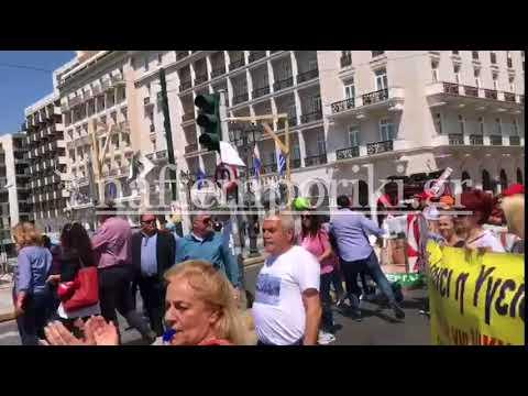 Κινητοποιήσεις στο κέντρο της Αθήνας