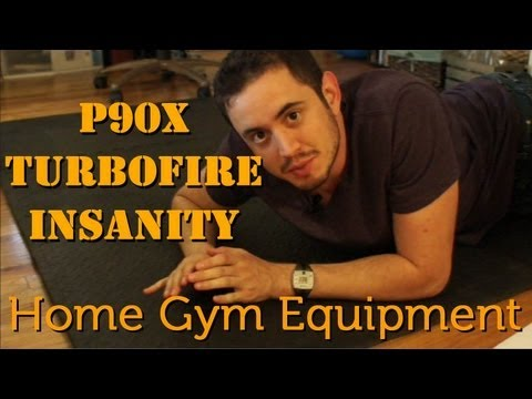 Home Gym Equipment for P90X, Insanity, TurboFire.