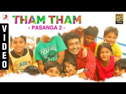 Tham Tham Song Video HD, Pasanga, 2, Suriya