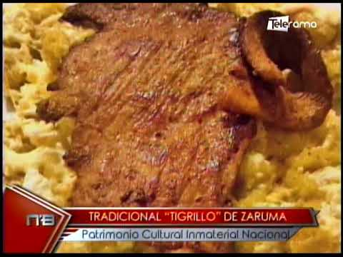 Tradicional Tigrillo de Zaruma patrimonio Cultural Inmaterial Nacional