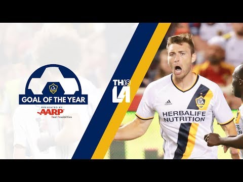 Video: LA Galaxy Goal of the Year | Dave Romney