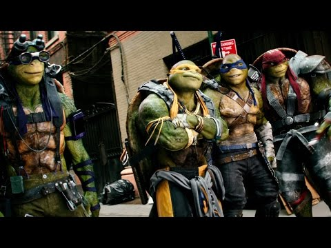Teenage Mutant Ninja Turtles 2!