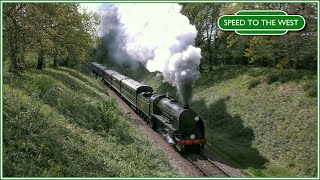 As a little bonus video for you all, I thought I'd edit together the extra shots from Wednesday's trip to see Flying Scotsman on the Bluebell Railway, rather than just have them sit around waiting for the deleted scenes video to come about. As per the Scotsman video, these were all filmed along the first mile out of Horsted Keynes up to Horsted Farm.Locos featured are: - SR Q Class 0-6-0 no.30541 - BR Standard Class 5MT 4-6-0 no.73082 'Camelot' - LNER A3 Class 4-6-2 no.60103 'Flying Scotsman' - SR S15 Class 4-6-0 no.847Filmed on a Panasonic VXF990 and a Panasonic HS900 with Pro Sound L92AA microphones.Enjoy.