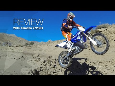 2016 Yamaha YZ250X Off Road Two Stroke Review Video