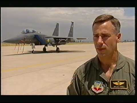 Fighter jet pilot tells his story of ejecting at supersonic speed.