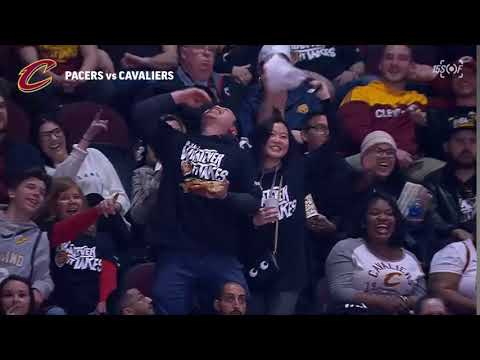 The Chip Dip! Dance at Pacers vs Cavaliers Game 1, April 15, 2018