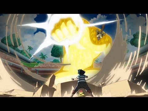 Ash Becomes a Pokemon Master! Legendary Pokemon Tapu Koko!