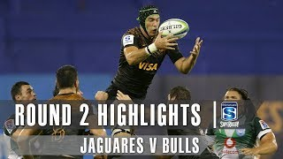 Jaguares v Bulls Rd.2 2019 Super rugby video highlights | Super Rugby Video Highlights