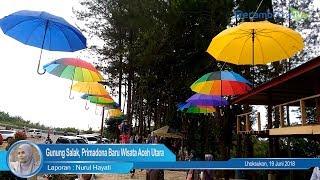Keindahan Gunung Salak, Daya Tarik Wisata Baru di Aceh Utara