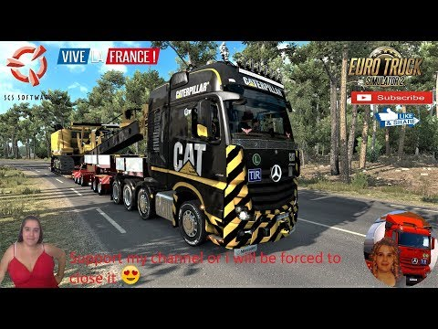 Doll Vario Panther 7-10 Axle for ETS2 v1.36