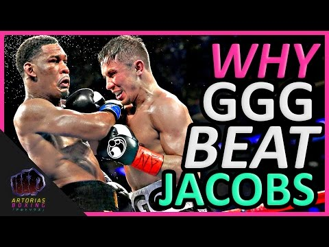 Why Gennady GGG Golovkin Beat Daniel Jacobs (Landed Punches Count) (видео)