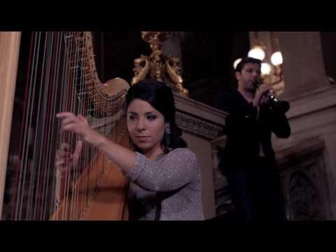 Schumann & Schubert (harp and clarinet)