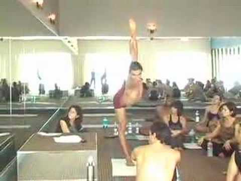 Bikram Yoga Standing Series Demonstration – Esak Garcia