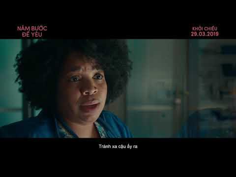 (Official Trailer) NĂM BƯỚC ĐỂ YÊU - FIVE FEET APART   KC 29.03.2019