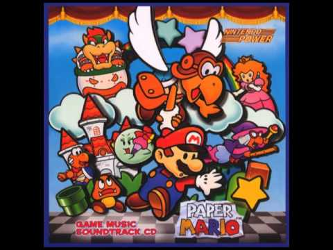 Paper Mario OST - Hot Times in Mt. Lavalava