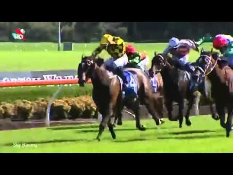Horse Jockey Has Wardrobe Malfunction During Race
