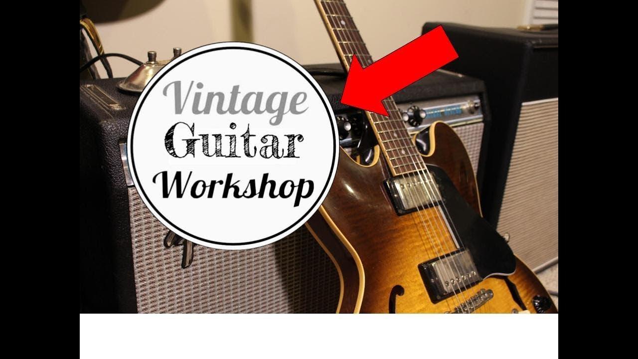 New Channel Announcement: Vintage Guitar Workshop