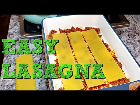 Easy Homemade Lasagna Recipe | No Boil Lasagna Recipe | 4K Cooking Videos