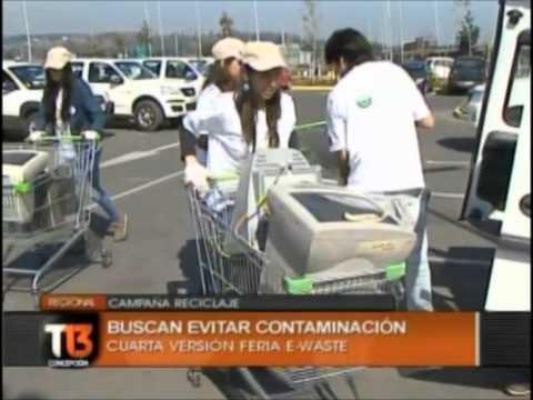 4ta campaña de reciclaje electrónico