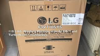 LG F4V710STS - washing machine [new 2019]