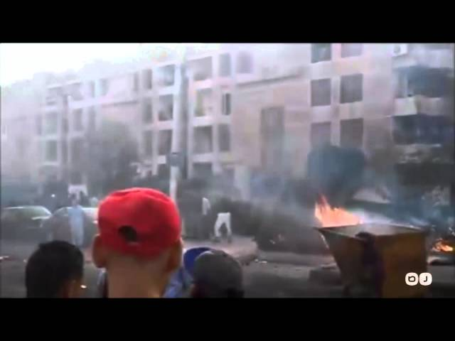 رصد | اللقطات الأولي لإنفجار أكتوبر بجوار قسم ثاني