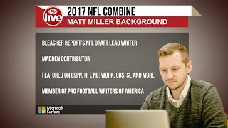 Who Will be the Biggest Riser at the Combine?