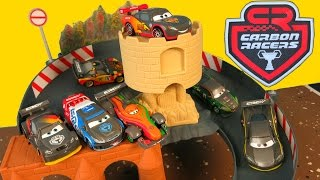 NEW DISNEY PIXAR CARS 2 CARBON RACERS RACE TRACK NURBURGRING COURSE GERMANY DRIFT RACING